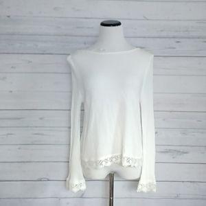 H & M Coachella lace top size 12